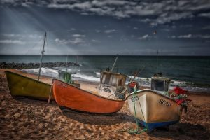 Photo: Stranded Boats by Erik Brede