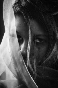 Photo: Sad Girl BW by Erik Brede
