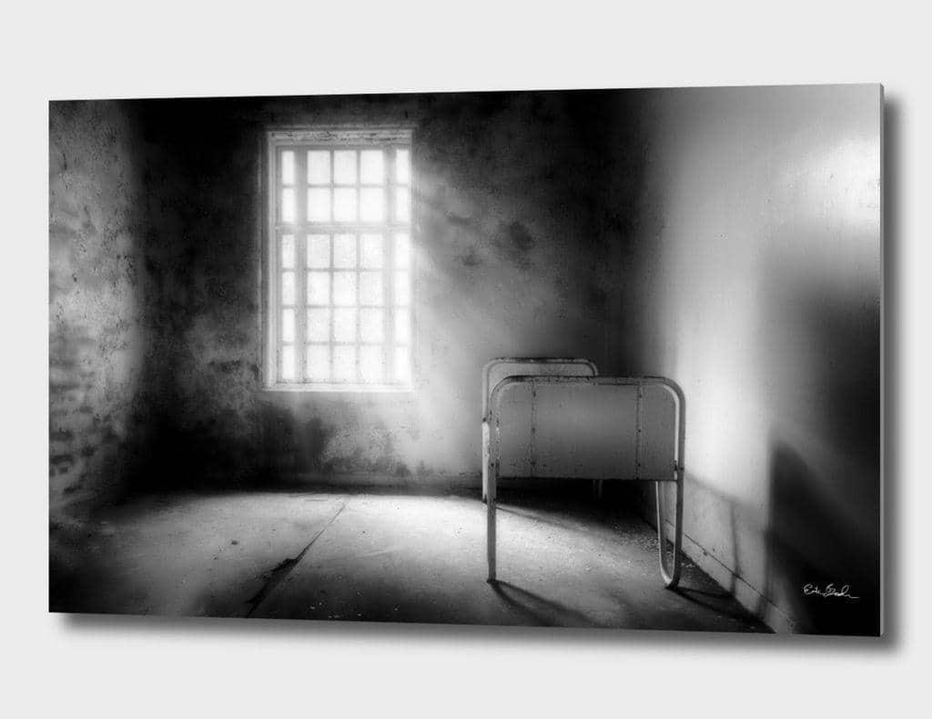 Erik Brede Photography - The Asylum Project - Empty Bed