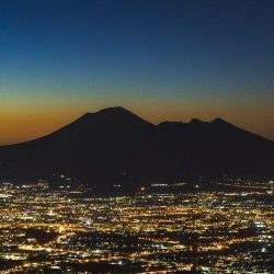 Erik Brede Photography - Mount Vesuvius at Night