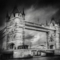 Erik Brede Photography - london tower bw