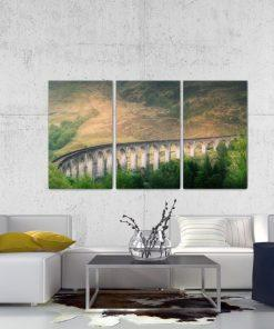 Erik Brede Photography - Glenfinnan Viaduct Part 2 - Triptych
