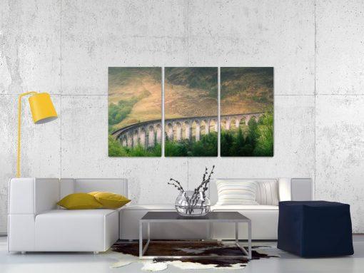 Glenfinnan Viaduct Part 2 - Triptych