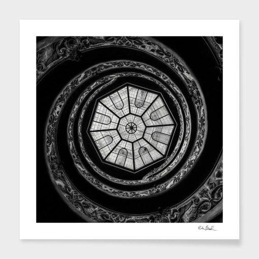 Erik Brede Photography - The Bramante Staircase