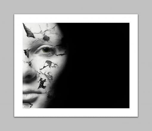 Cracked Face - Erik Brede Photography
