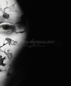 Cracked Face - Erik Brede Photography