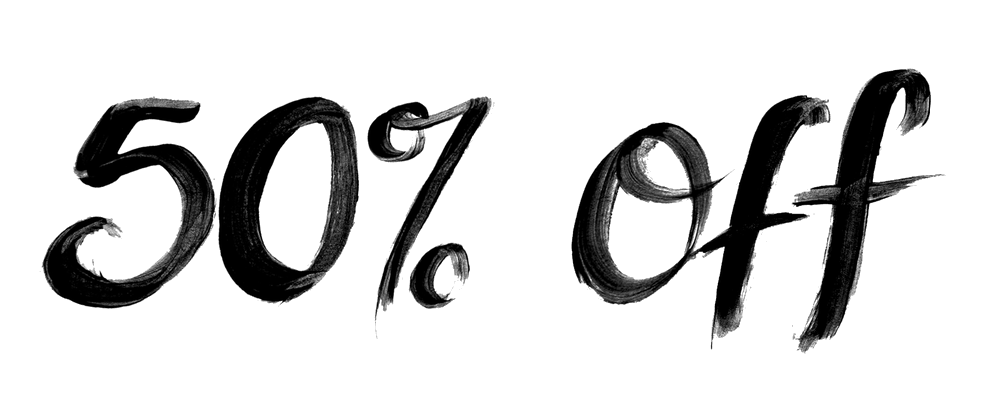 50 Sale logo