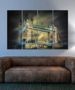 Erik Brede Photography - London Tower Quadriptych Wall