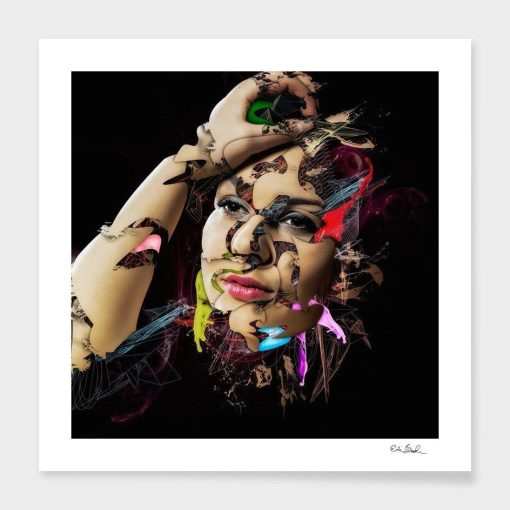 Erik Brede Photography - Abstract Portrait 2