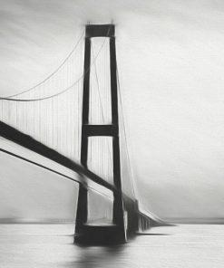 Erik Brede Photography - Great Belt Bridge Panorama