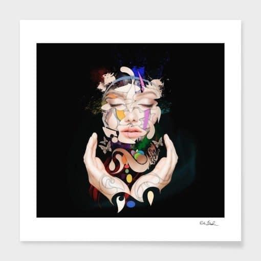 Erik Brede Photography - Abstract Portrait No 16
