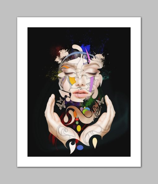 Abstract Portrait No 16 - Erik Brede Photography