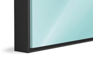 Aluminium Floating Frame Black