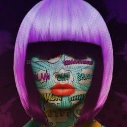 Pop Art Face Part 1