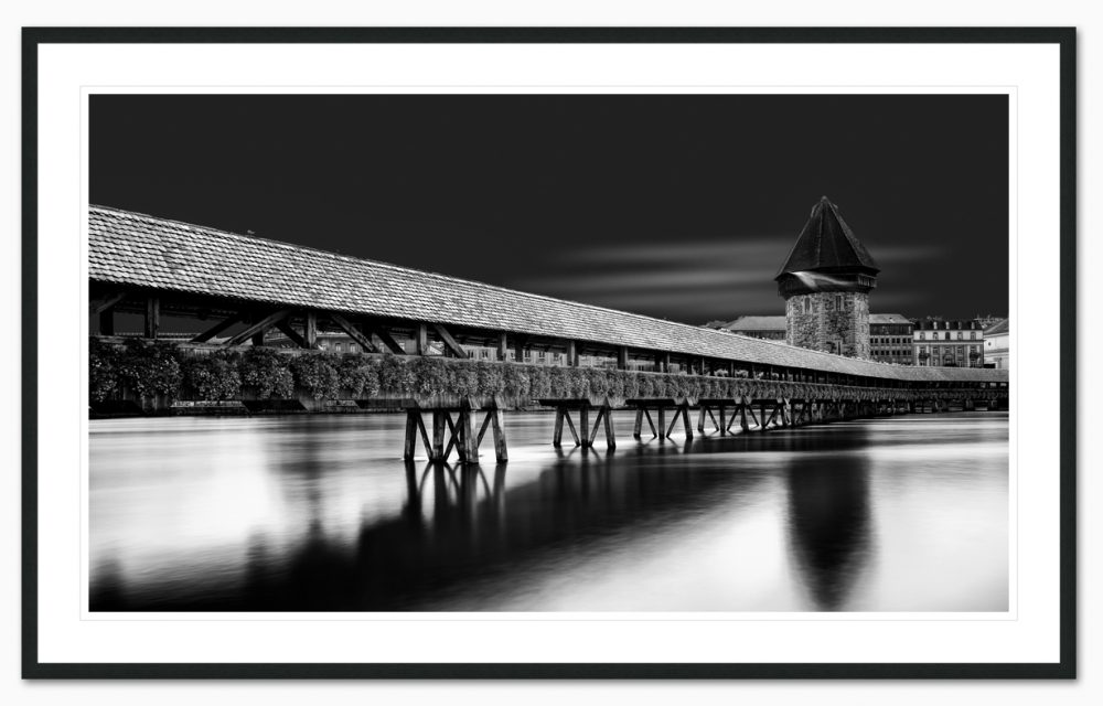 Chappel Bridge framed - Erik Brede