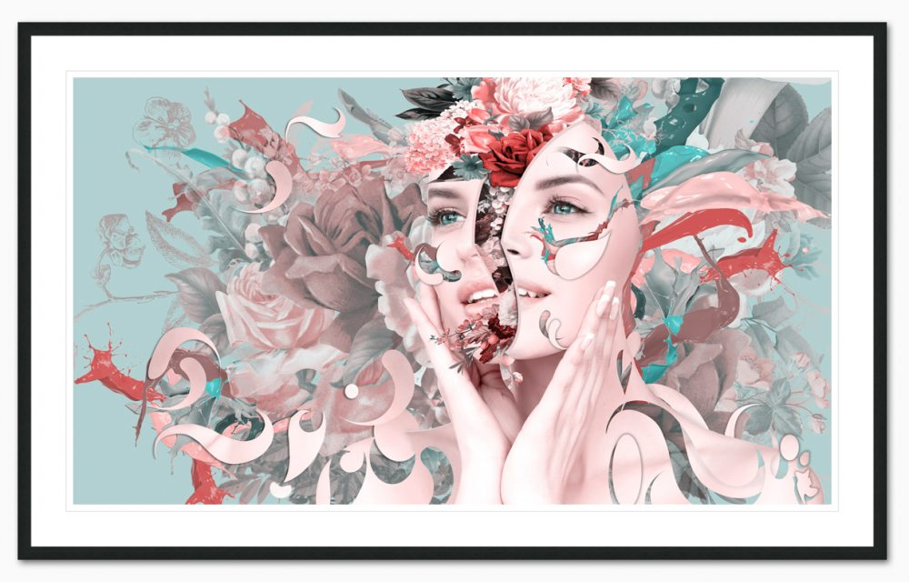 flower power part 2 framed - Erik Brede
