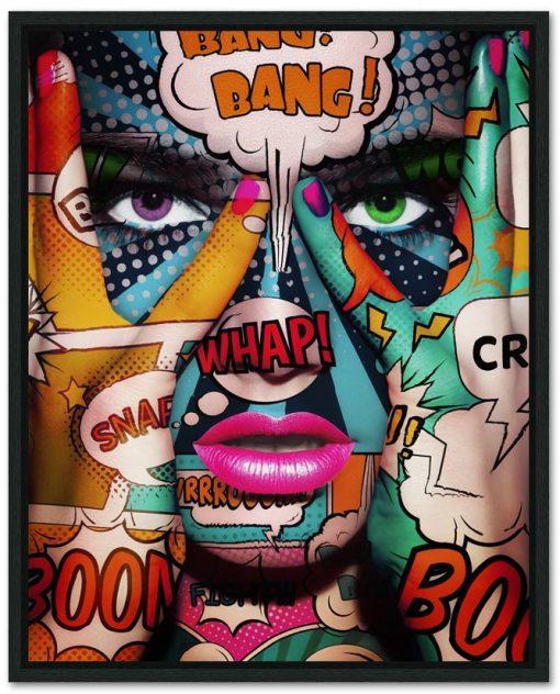 Pop Art Face Part 2 Frame 1of1 - Erik Brede