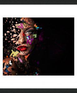 Abstract Portrait No 12 - Erik Brede