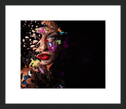 Abstract Portrait No 12 - Erik Brede