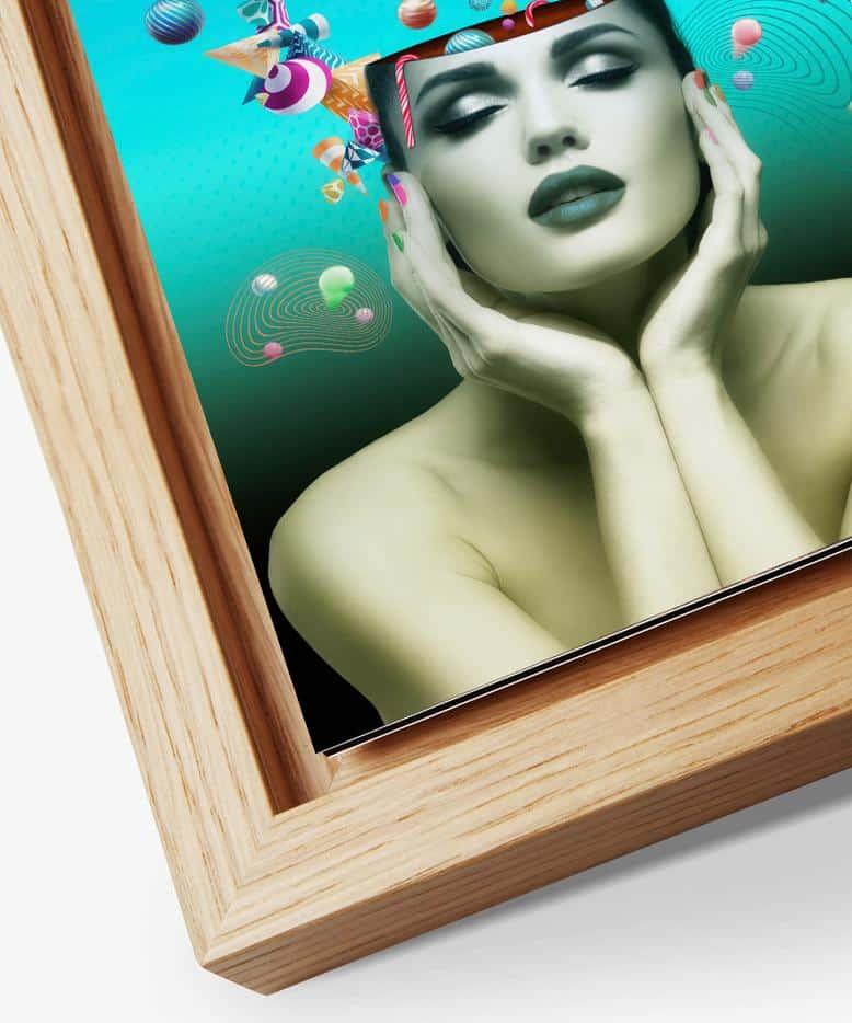 Gallery frame